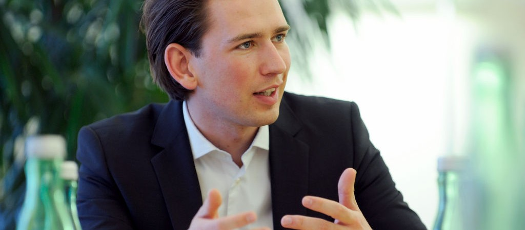 A letter from Federal Minister Sebastian Kurz